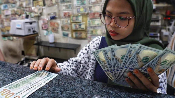 Ilustrasi Dollar (CNBC Indonesia/Andrean Kristianto)