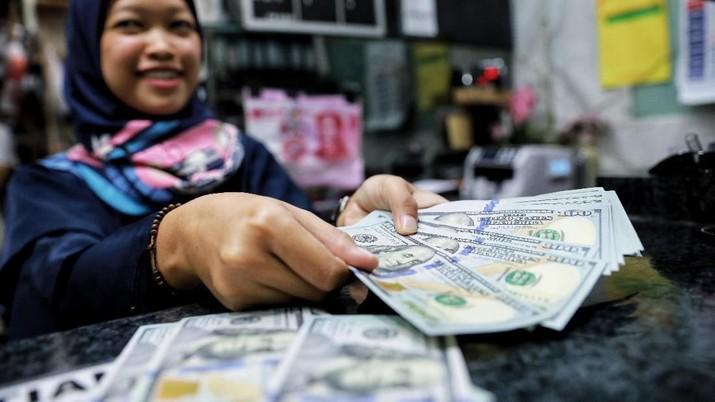 Pukul 14:00 WIB: Rupiah Kembali ke Level 14.445/US$