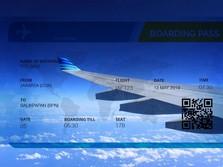 Darmin Sebut Tiket Pesawat Mahal Ganggu Pertumbuhan Ekonomi