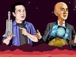 Jeff Bezos Vs Elon Musk: Siapa Tony Stark di Dunia Nyata?
