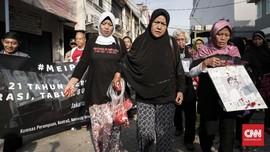 Keluarga Korban 98 Minta Sterilkan Kabinet dari Pelanggar HAM