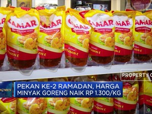 Pekan Kedua Ramadan Harga Minyak Goreng Naik Rp. 1.300/Kg