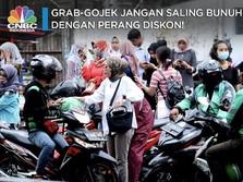 Grab-Gojek Jangan Saling Bunuh Dengan Perang Diskon!
