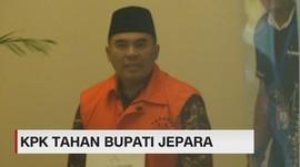 VIDEO: KPK Resmi Tahan Bupati Jepara