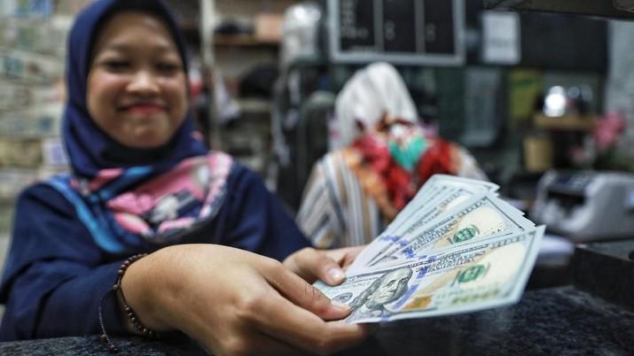 Pukul 12.00 WIB: Berbalik Menguat, Rupiah Kini di 14.440/US$