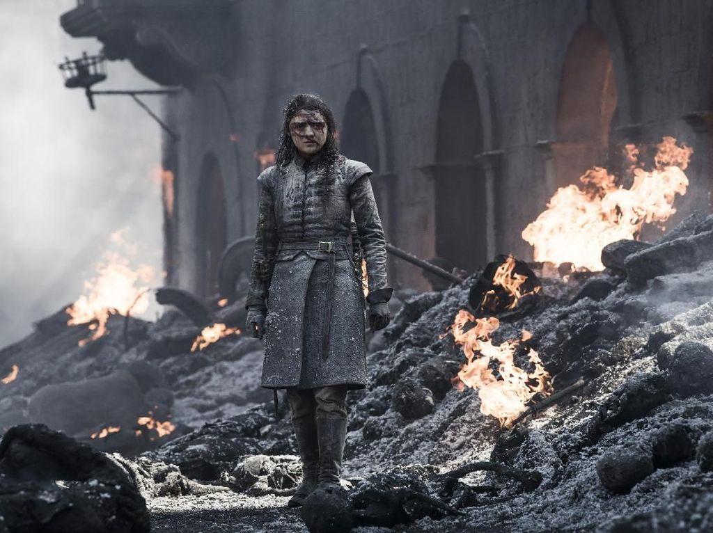 Arya atau Maisie Williams akan tampil sebagai mutan bernama Wolfbane dalam filmThe New Mutant. Dok. Helen Sloan/HBO