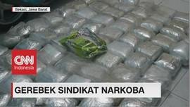 VIDEO: BNN Sita 200 Kg Sabu-sabu di Bekasi