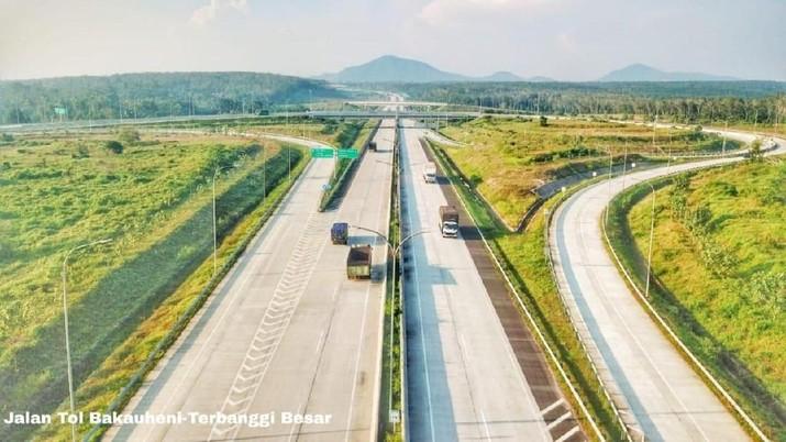 Tol Trans Sumatera Ini Bakal Diresmikan Jokowi
