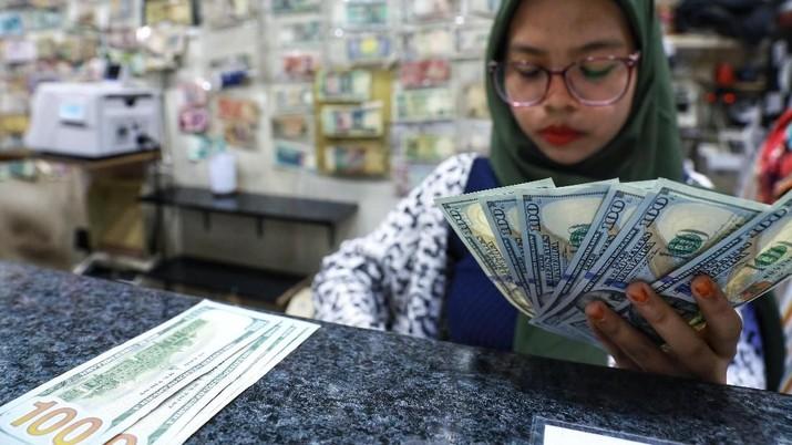 Pukul 15:00 WIB: Rupiah Masih Bertahan di 14.445/US$
