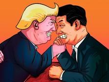 Perang Dagang Membara, Trump Langsung Balas Serangan China