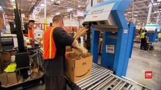 VIDEO: Amazon Diam-diam Operasikan Robot di Pabrik Pengemasan