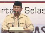 Pertemuan dengan Jokowi, Prabowo: Semua Ada Waktunya