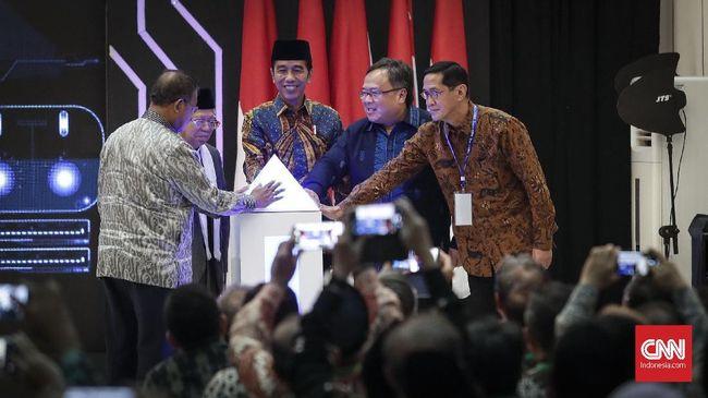 Luncurkan Masterplan, Jokowi Ingin Ekonomi Syariah RI Bangkit