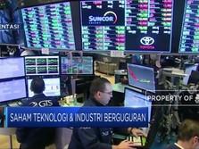 China Balas AS, Bursa Amerika Anjlok