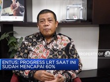 Progress LRT Jabodebek Capai 60%