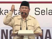 Anggap Penuh Kecurangan, Prabowo Tolak Seluruh Hasil Pilpres