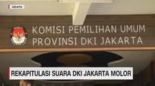 VIDEO: Rekapitulasi Suara DKI Jakarta Molor