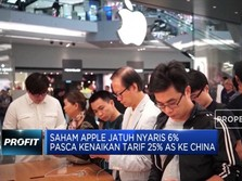 Apple Korban Perang Dagang AS-China