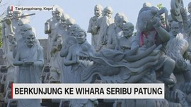 VIDEO: Berkunjung ke Wihara Seribu Patung