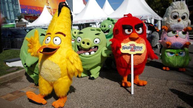 'Angry Birds' Serbu Pembukaan Cannes 2019