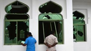 FOTO: Masjid, Saksi Bisu Bentrokan Anti-Muslim di Sri Lanka