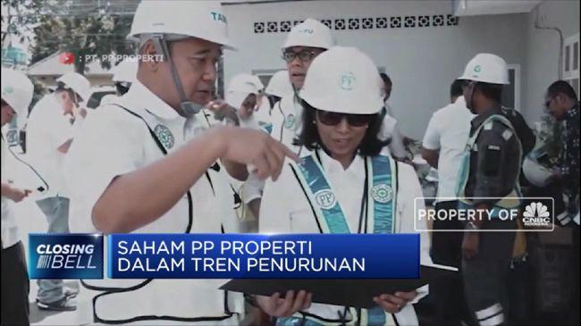 PTPP PPRO Saham PP Properti Dalam Tren Penurunan