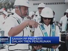Saham PP Properti Dalam Tren Penurunan