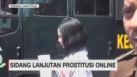 VIDEO: Sidang Lanjutan Prostitusi Online Vanessa