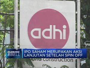 Anak Usaha ADHI, ACP Gelar IPO Saham November 2019