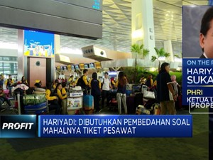 PHRI: Okupansi Hotel Turun 10%-30% Akibat Tarif Pesawat Tingg