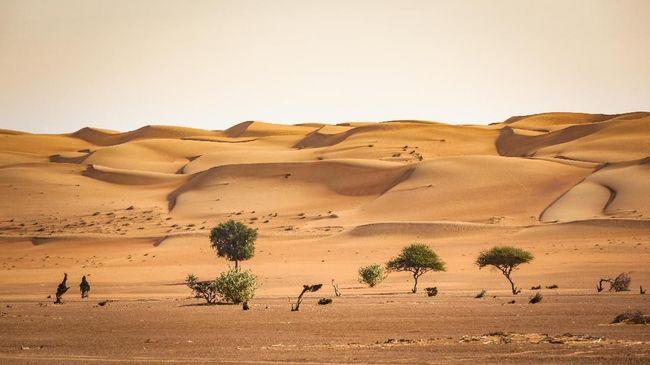 Gurun Wahiba, Permukiman Badui Arab di Oman