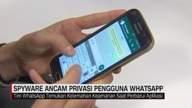 VIDEO: Spyware Ancam Privasi Pengguna Whatsapp