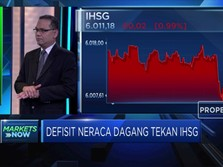 Investor Kecewa, IHSG Anjlok