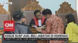 VIDEO: Hakim PN Jaksel Tolak Gugatan Praperadilan Romahurmuzy