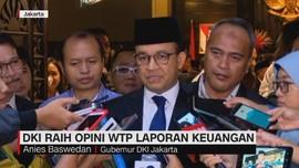 VIDEO: DKI Raih Opini WTP Laporan Keuangan