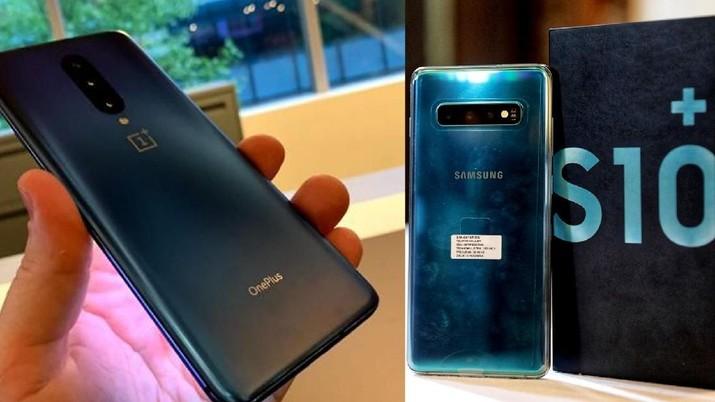 OnePlus 7 Pro Vs Samsung S10 Plus, Mana Lebih Canggih?