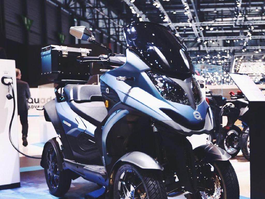 Dibandingkan dengan mesin pembakaran, kinerja motor listrik eQooder diklaim sama dengan motor berkubikasi 650cc. Istimewa/Eqooder.