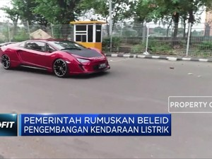 Pemerintah Rumuskan Beleid Pengembangan Kendaraan Listrik