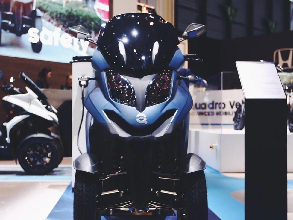 Motor ini mampu menghasilkan putaran torsi di 110 nm. Keunikan lainnya adalah motor ini ada gigi mundurnya. Istimewa/Eqooder.
