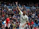 La Liga: Benzema Teken Kontrak Baru, Bela Madrid Hingga 2023