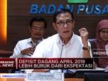 Neraca Dagang April 2019 Defisit USD 2,5 Miliar