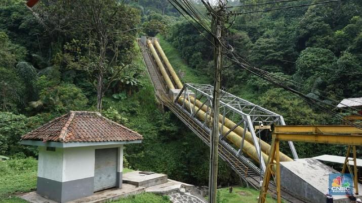 PLN bakal membangun pembangkit listrik bertenaga air berkapasitas 1350 MW, terbesar di Indonesia