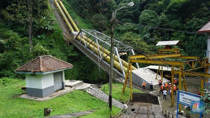 PLTA peninggalan zaman kolonial ini masih eksis untuk pasok listrik Jawa-Bali