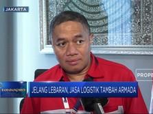 Jelang Lebaran, Transaksi di Jasa Logistik Naik 74% (YoY)