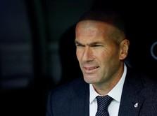 Pelatih Real Madrid Zinedine Zidane Positif Terjangkit Corona