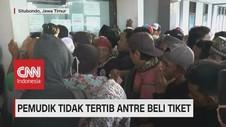 VIDEO: Mudik Lebih Awal, Warga Pulau Raas Padati Pelabuhan