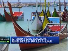 Rugi Bersih PDES Turun 28,15% (YoY)