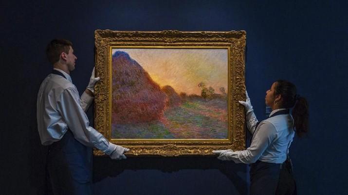 Begini Penampakan Lukisan Monet yang Laku Rp 1,6 T