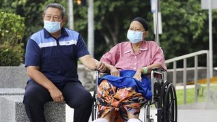 Kondisi Ani Yudhoyono Memburuk, Netizen Ajak #DoaUntukBuAni