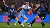 Bentrok Lazio melawan Atalanta di final Coppa Italia merupakan pertemuan ke-119 bagi kedua tim di semua ajang. Selain di pentas Coppa Italia, kedua tim pernah bertemu di Serie A dan Serie B. (REUTERS/Alberto Lingria)